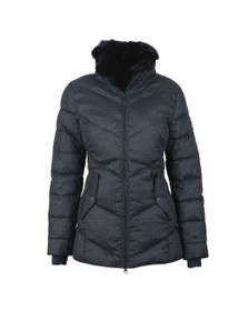 Barbour Lifestyle Womens Blue Scuttle Quilt