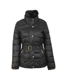 Barbour International Womens Black Circuit Quilt Jacket