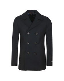 Ted Baker Mens Blue Westun Wool Peacoat