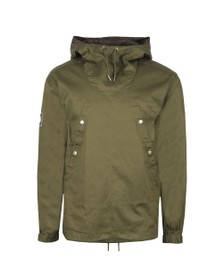 Pretty Green Mens Green Overhead Jacket