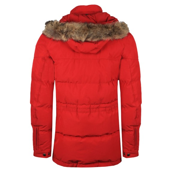 Belstaff Mens Multicoloured Traverse Parka With Fur main image