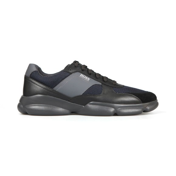 BOSS Mens Black Rapid Runner Trainer
