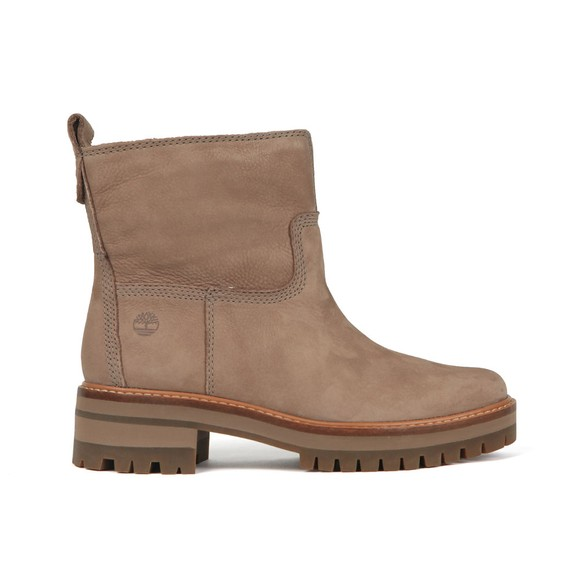 Timberland Womens Beige Courmayeur Valley Warm Lined Boot