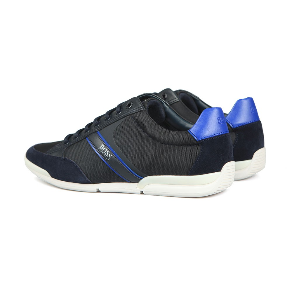 Athleisure Saturn Low Suede Mix Trainer main image