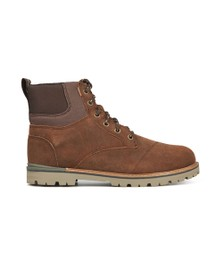 Toms Mens Brown Waxy Suede Ashland Waterproof Boot