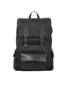 Belstaff Mens Black Roadmaster Backpack
