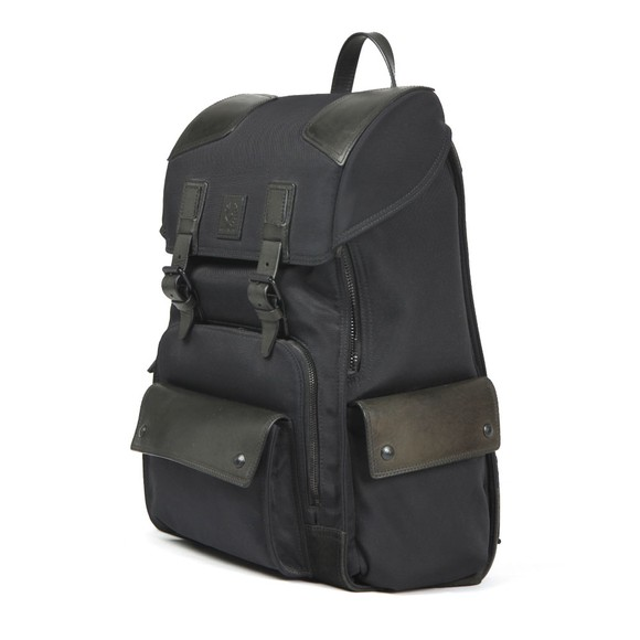Belstaff Mens Black Roadmaster Backpack main image