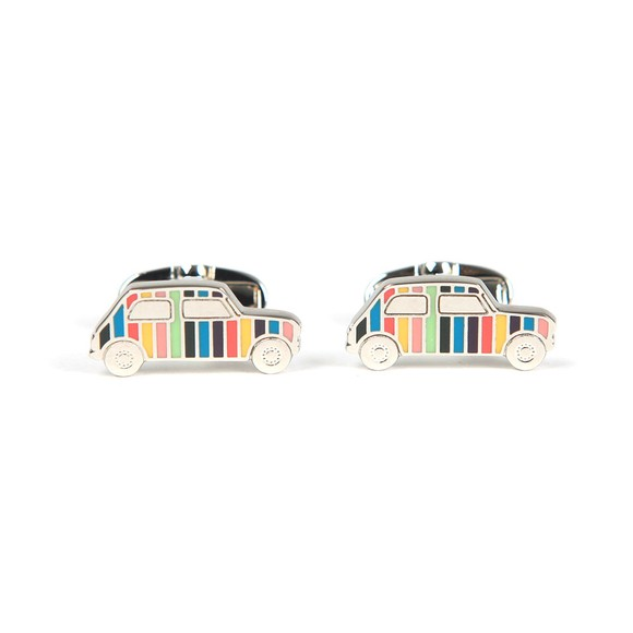 Paul Smith Mens Silver Mini Car Cufflink