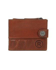 Superdry Mens Warm Tan Profile Leather Wallet in a Tin