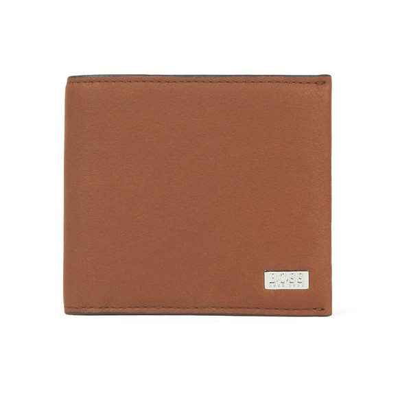 BOSS Bodywear Mens Brown Crosstown Card Wallet