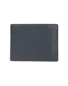 Emporio Armani Mens Blue Coin Holder Wallet
