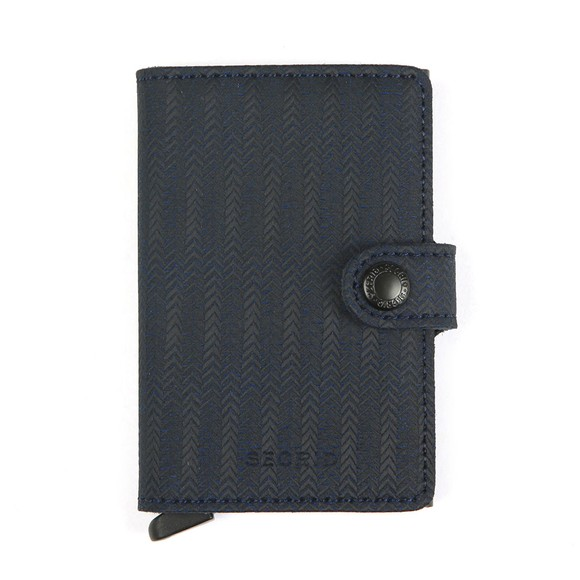 Secrid Mens Blue Dash Miniwallet main image