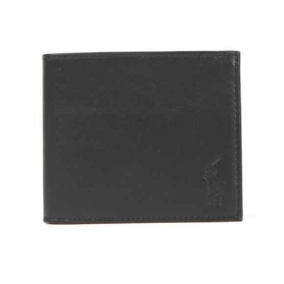 Polo Ralph Lauren Mens Black Wallet & Card Holder Gift Box