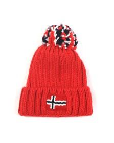 Napapijri Boys Red K Semiury 3 Hat