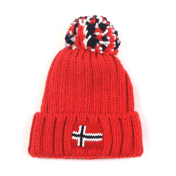 Napapijri Boys Red K Semiury 3 Hat