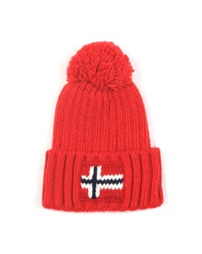 Napapijri Mens Red Semiury 2 Hat