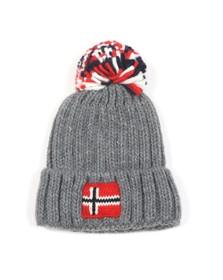 Napapijri Boys Grey K Semiury 3 Hat