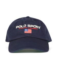Polo Ralph Lauren Sport Mens Blue Logo Cap