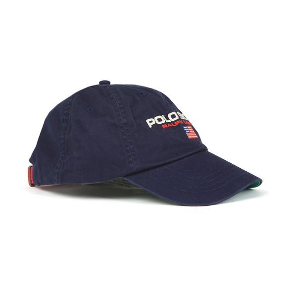 Polo Sport Ralph Lauren Mens Blue Logo Cap