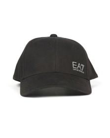 EA7 Emporio Armani Mens Black Woven Cap
