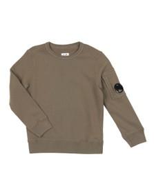 C.P. Company Undersixteen Boys Green Viewfinder Sweatshirt