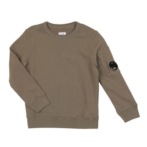 C.P. Company Undersixteen Boys Green Viewfinder Sweatshirt main image