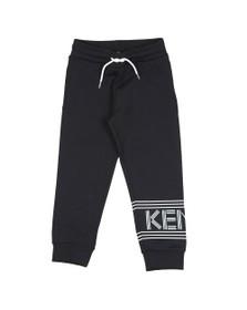 Kenzo Kids Boys Black Boys Sport Line Logo Jogger