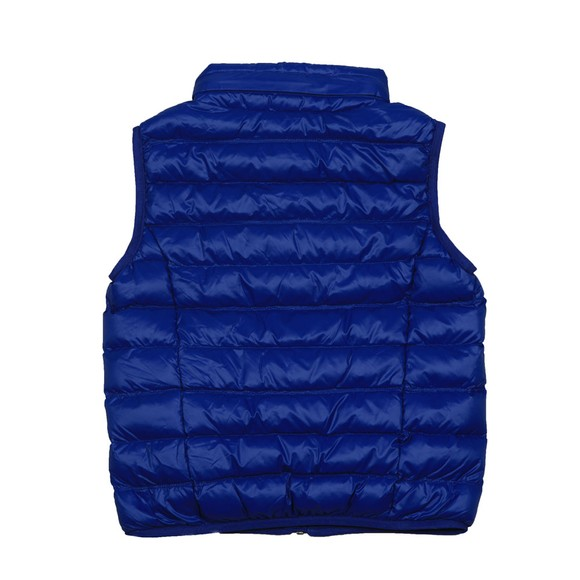 EA7 Emporio Armani Boys Blue Lightweight Down Gilet main image