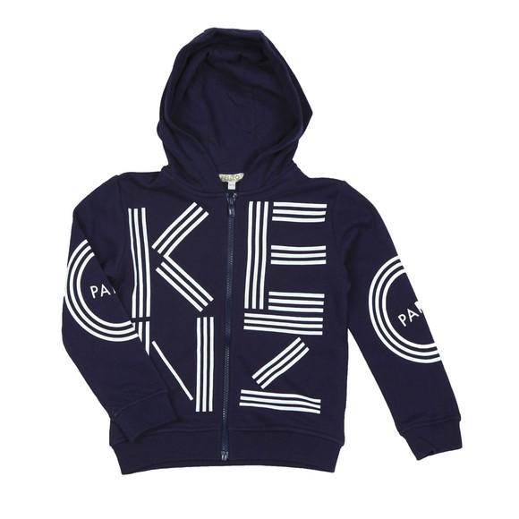 Kenzo Kids Boys Blue Sport Line Zip Hoody main image