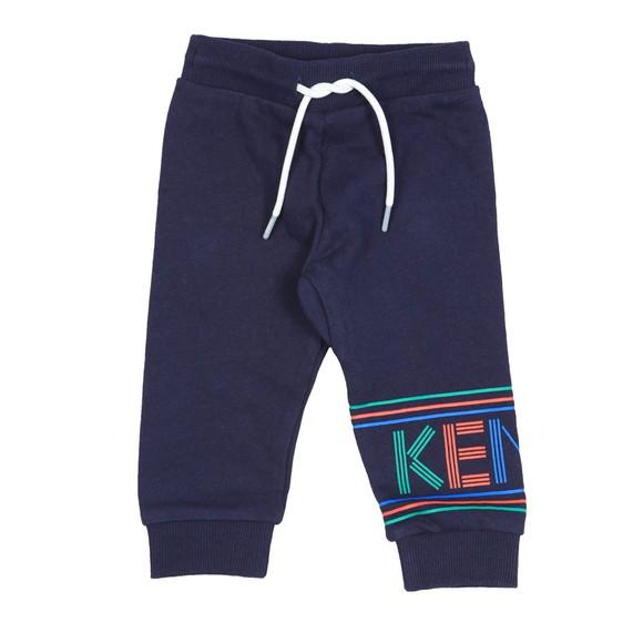Kenzo Baby Boys Blue Sport Line Logo Jogger main image