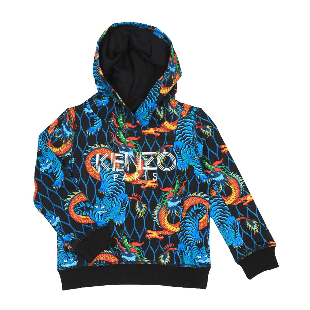 Dragon Printed Hoody main image