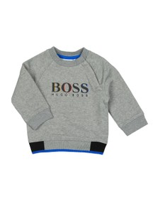 BOSS Baby Boys Grey J05735 Sweatshirt