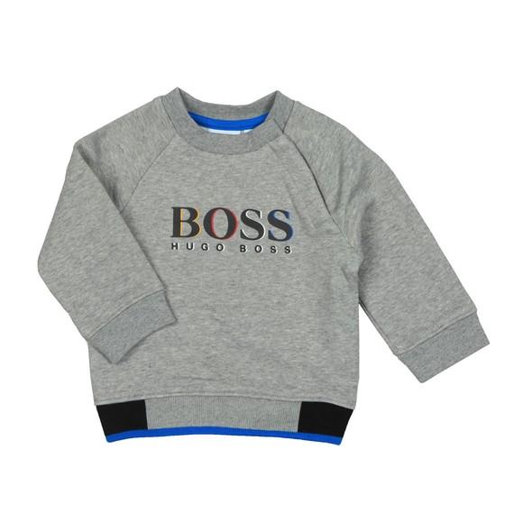 BOSS Baby Boys Grey J05735 Sweatshirt main image