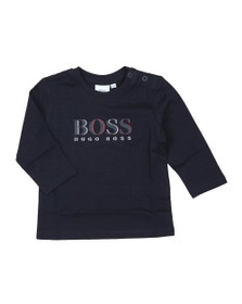 BOSS Baby Boys Blue J05739 Long Sleeve T Shirt