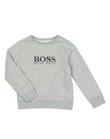 BOSS Boys Grey J25E17 Logo Sweatshirt