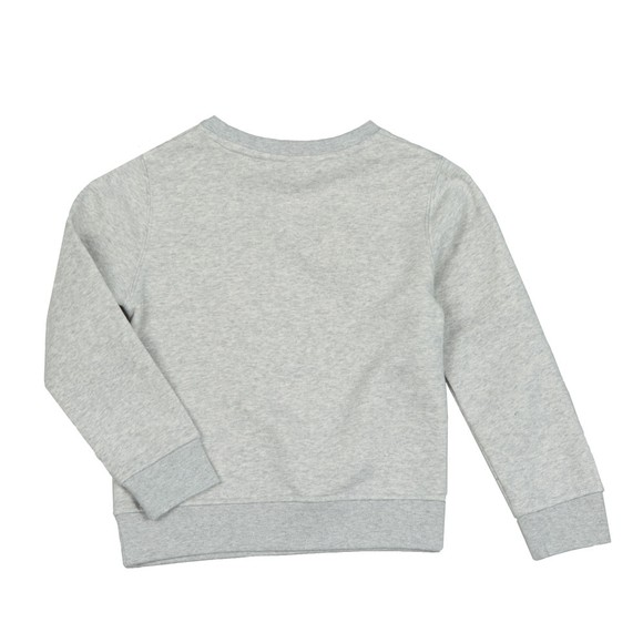 BOSS Boys Grey J25E17 Logo Sweatshirt main image