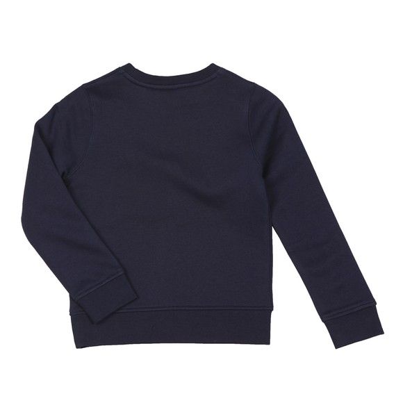 BOSS Boys Blue J24E24 Plain Sweatshirt main image