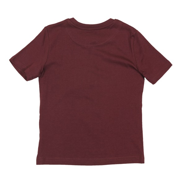 Lyle And Scott Junior Boys Red Plain Crew T Shirt main image