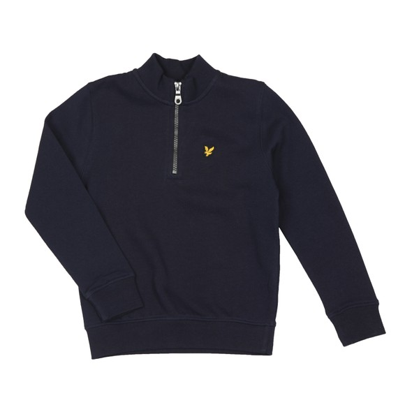 Lyle And Scott Junior Boys Blue Half Zip Sweatshirt  main image