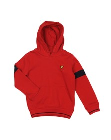 Lyle And Scott Junior Boys Red Classic Overhead Hoody