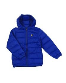 Lyle And Scott Junior Boys Blue Puffer Jacket
