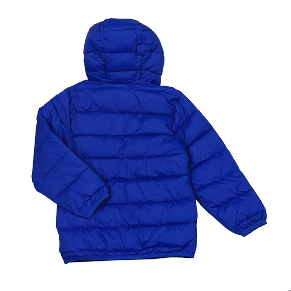 Lyle And Scott Junior Boys Blue Puffer Jacket