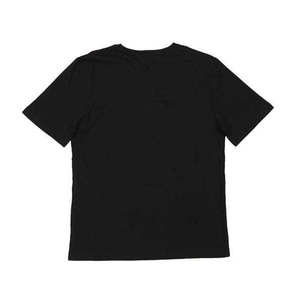 BOSS Boys Black J25P13 Logo T Shirt main image