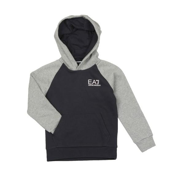 EA7 Emporio Armani Boys Blue Boys 6GBM57 Logo Hoody main image