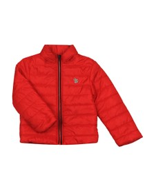 Paul Smith Boys Red Lightweight Puffer Jacket