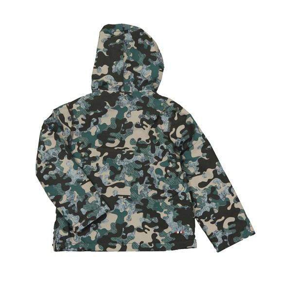 Napapijri Boys Grey Rainforest Jacket main image