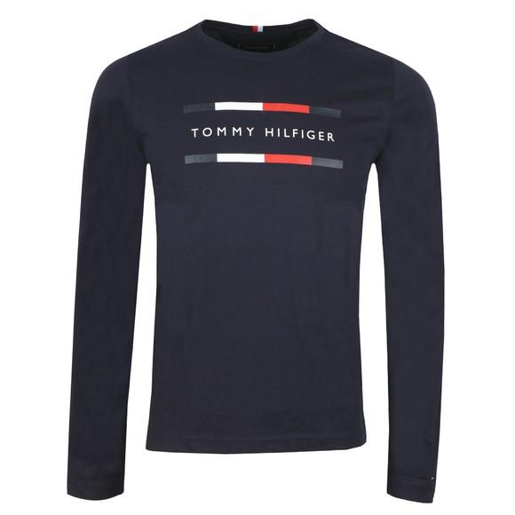 Tommy Hilfiger Mens Blue Corp L/S T-Shirt main image