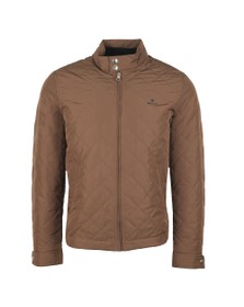 Gant Mens Brown The Quilted Windcheater