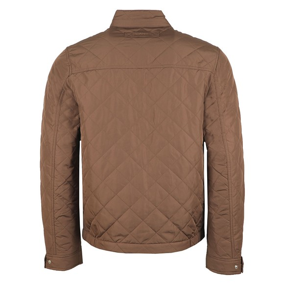 Gant Mens Brown The Quilted Windcheater main image