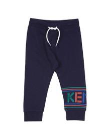 Kenzo Kids Boys Blue Sport Line Logo Jogger